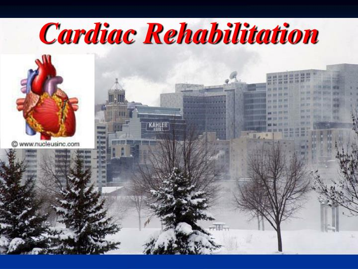 cardiac rehabilitation n.