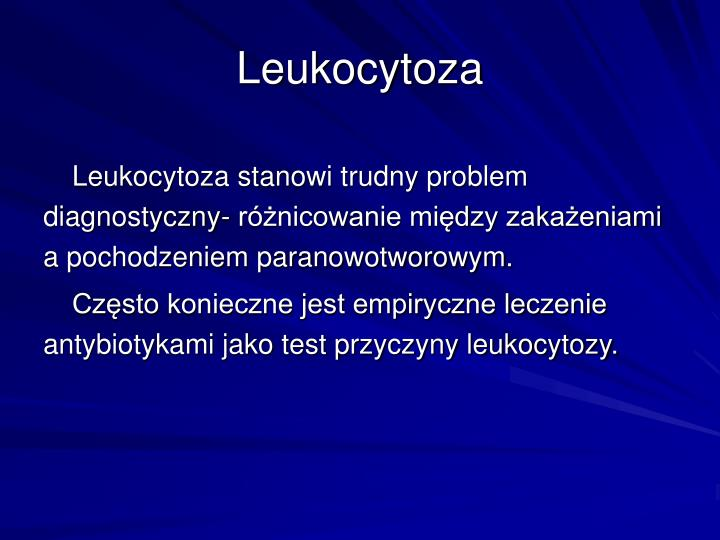 Leukocytoza