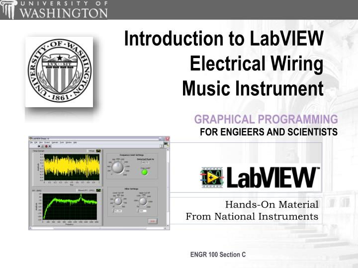 PPT - Hands-On Material From National Instruments PowerPoint