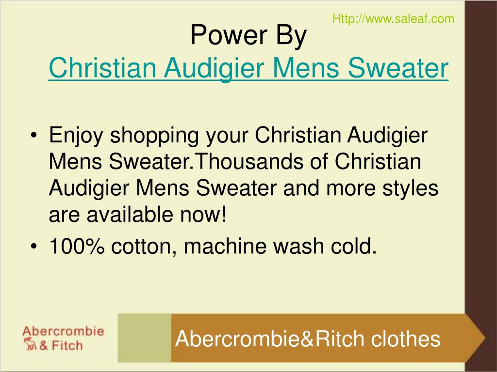 Enjoy shopping your Christian Audigier Mens Sweater.Thousands of Christian Audigier Mens Sweater and more styles are available now!