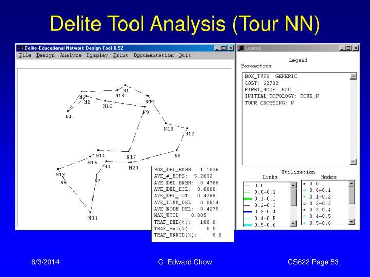 Delite Tool Analysis (Tour NN)