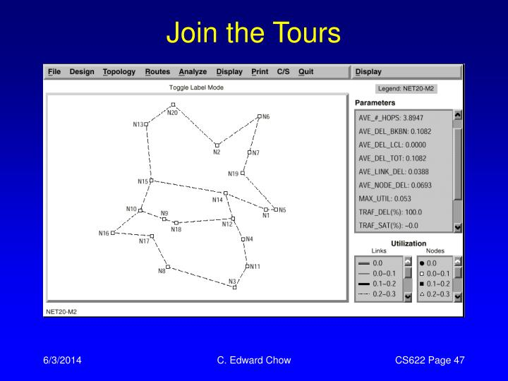Join the Tours