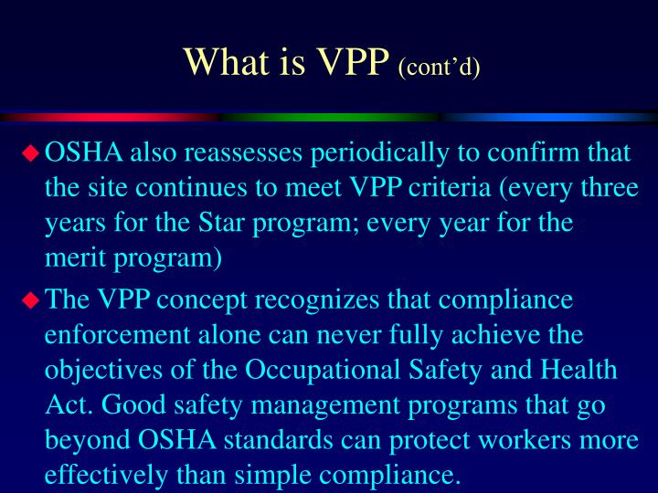 What is VPP