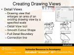 creating drawing views10
