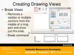 creating drawing views11
