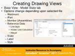 creating drawing views2