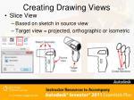 creating drawing views9