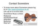 contact scorestore