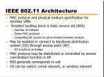 ieee 802 11 architecture