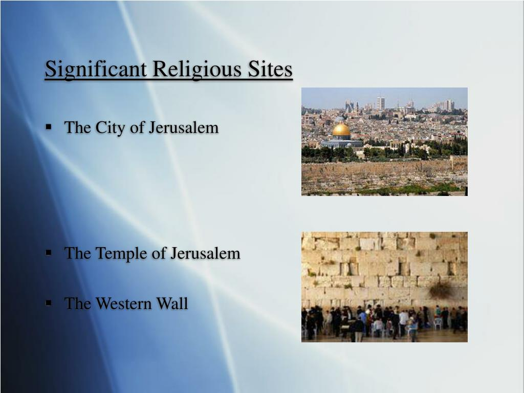 Significant Religious Sites
