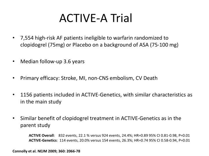 ACTIVE-A Trial