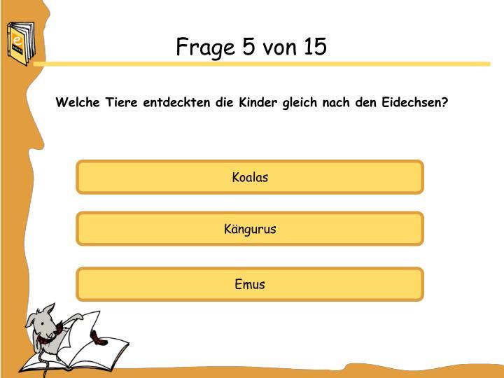 Frage 5 von 15