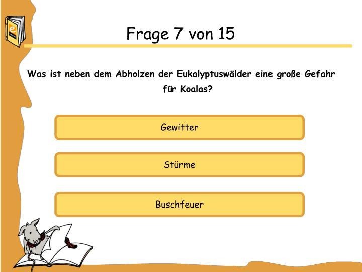 Frage 7 von 15