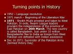 turning points in history