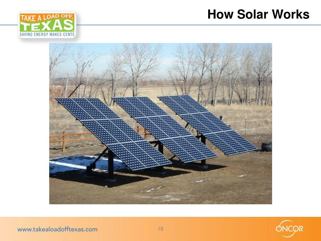 Ppt Take A Load Off Texas Solar Pv Program Powerpoint