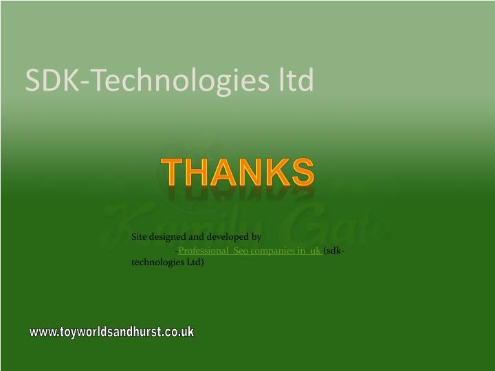 SDK-Technologies ltd