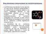 poli steres derivados de oligotiofenos