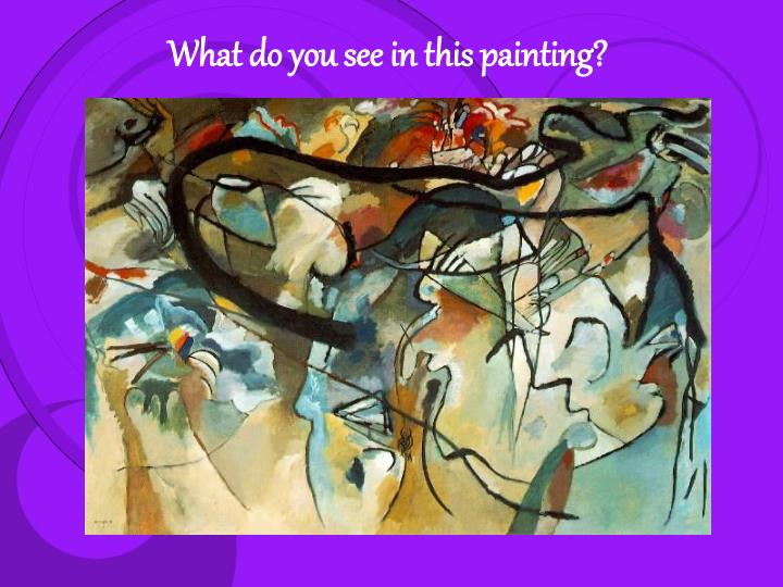 What do you see in this painting?