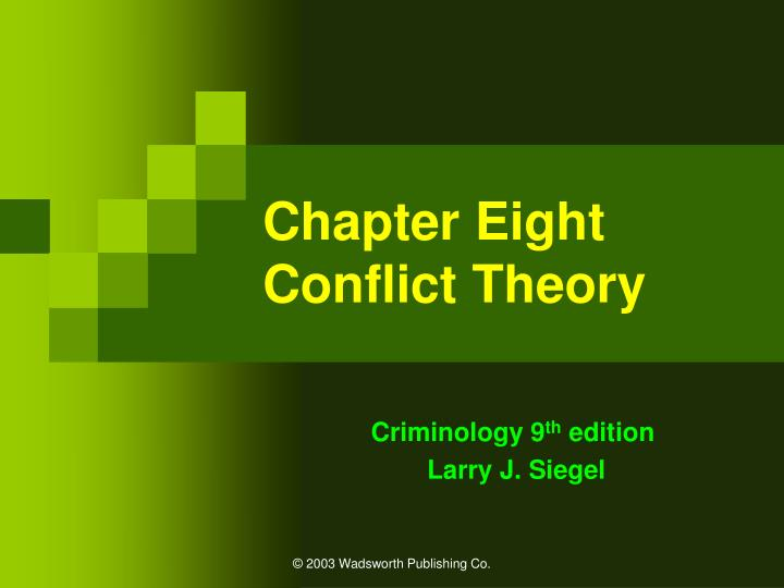 goals of criminology and theories This theory is applied to a variety of approaches within the bases of criminology in particular and in sociology more generally as a conflict theory or structural conflict perspective in sociology and sociology of crime as this perspective is itself broad enough, embracing as it does a diversity of positions.