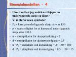 binomialmodellen 4
