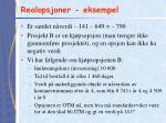 realopsjoner eksempel1
