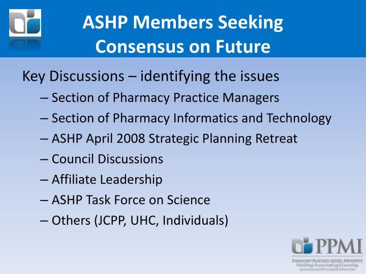 ASHP Members Seeking