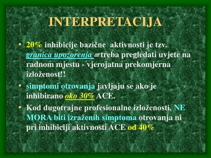 INTERPRETACIJA