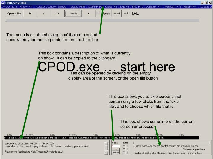 PPT - CPOD exe … start here PowerPoint Presentation - ID:910988