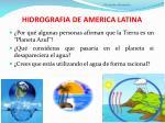hidrografia de america latina