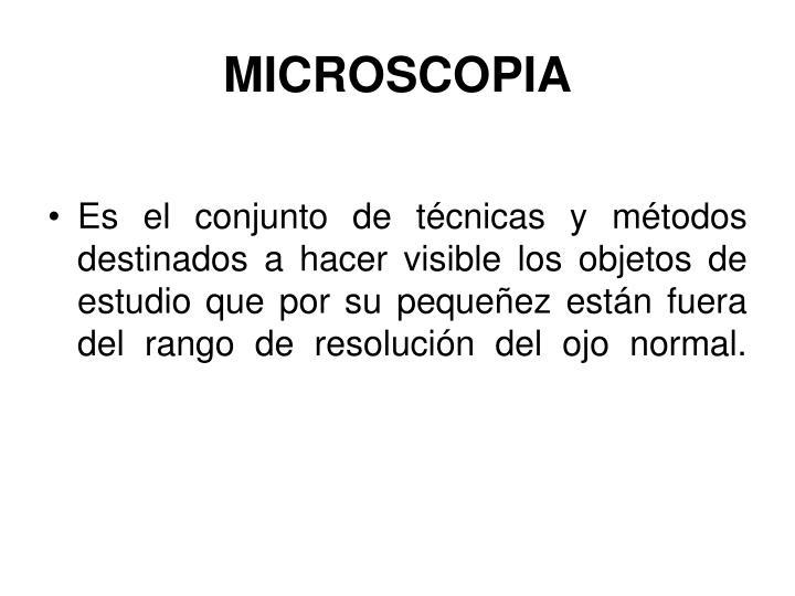 MICROSCOPIA