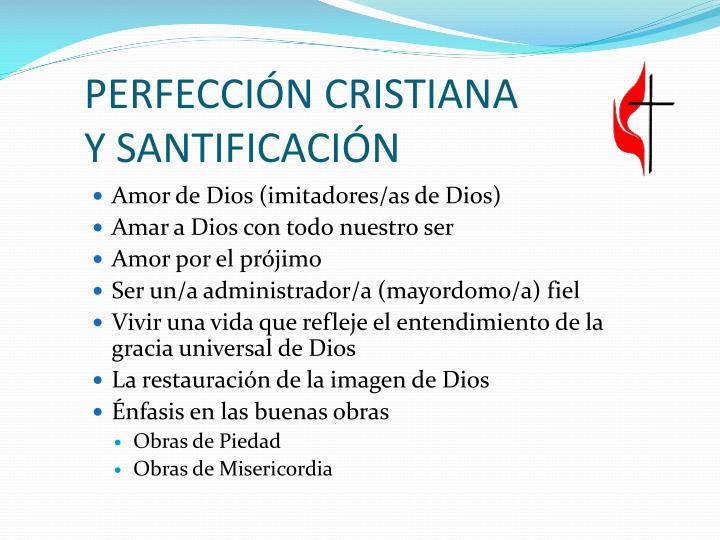 PERFECCIÓN CRISTIANA