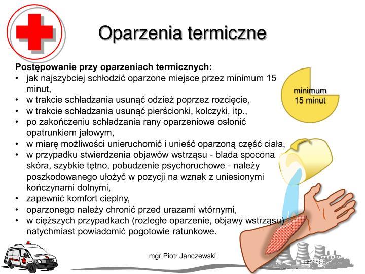 Oparzenia termiczne