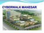 cyberwalk manesar