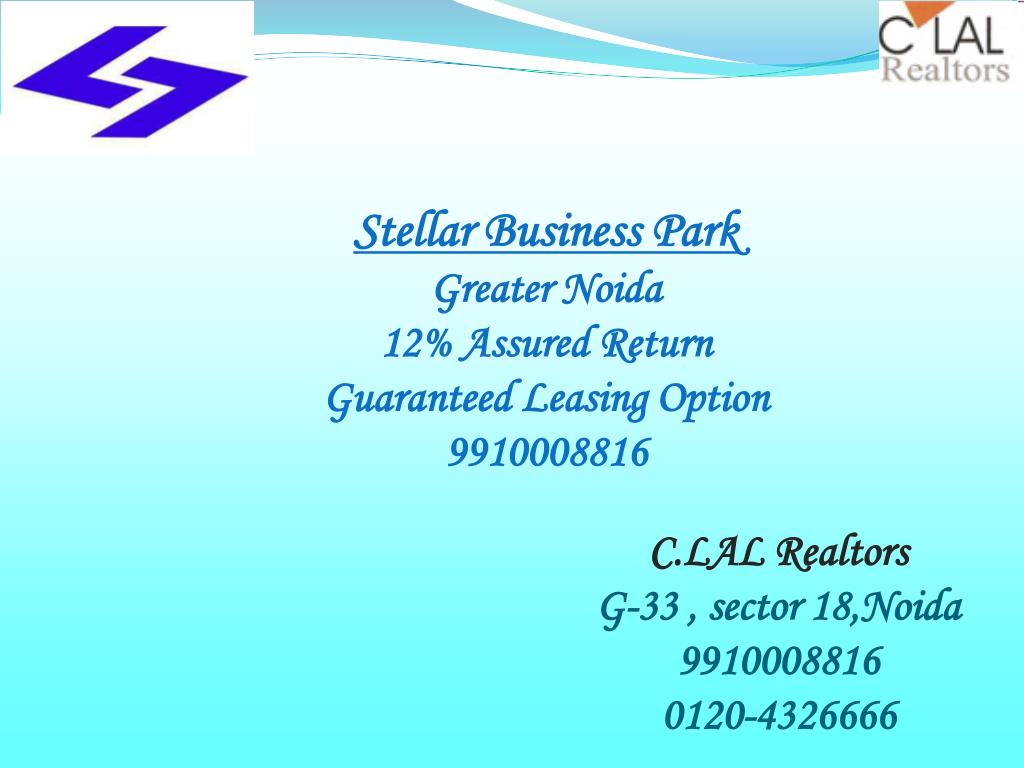 c lal realtors g 33 sector 18 noida 9910008816 0120 4326666 l.