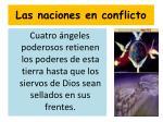 las naciones en conflicto