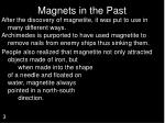 magnets in the past3