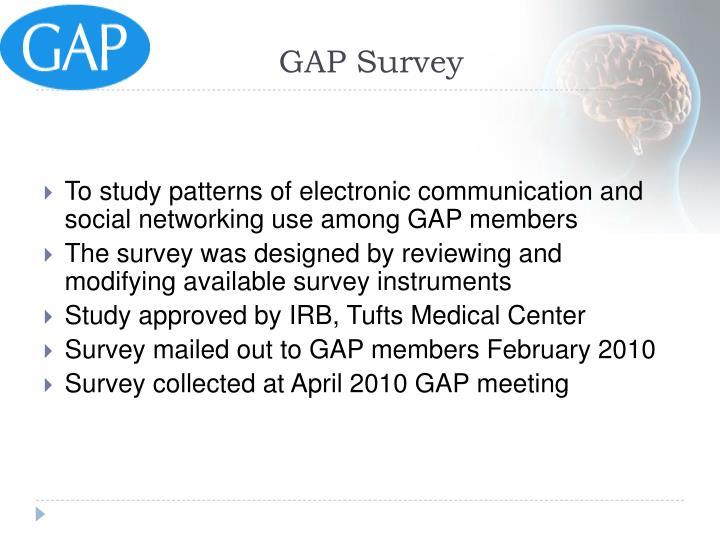GAP Survey
