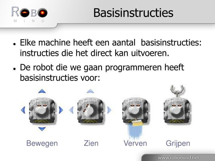 Basisinstructies