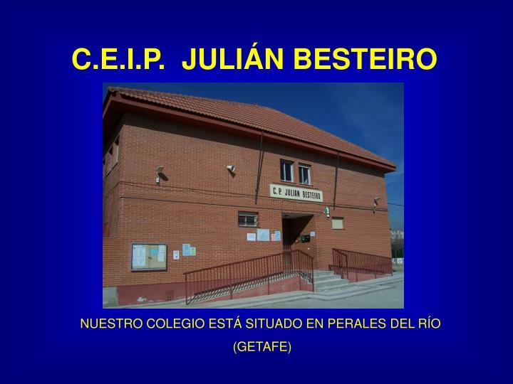 C.E.I.P.  JULIÁN BESTEIRO