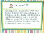 art culo 207
