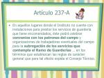 art culo 237 a