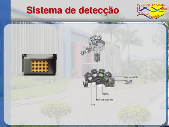 Sistema de detecção