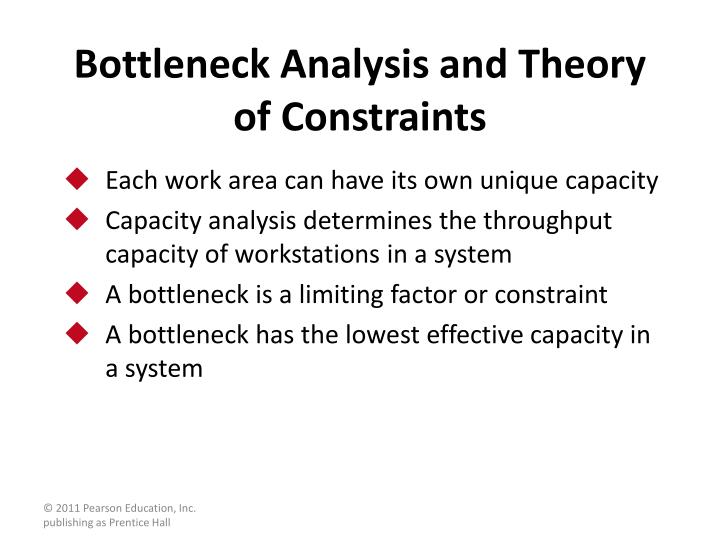 Bottleneck Analysis and Theory of Constraints