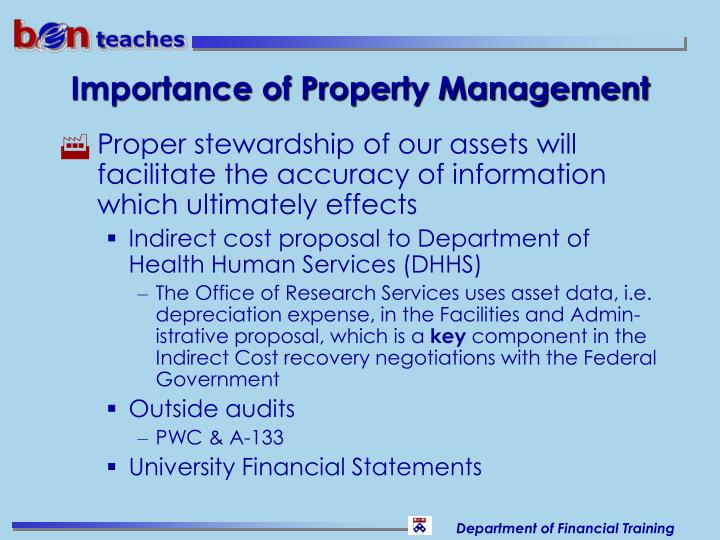 Importance of Property Management
