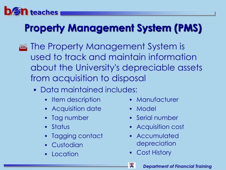 Property Management System (PMS)