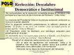 reelecci n descalabro democr tico e institucional2