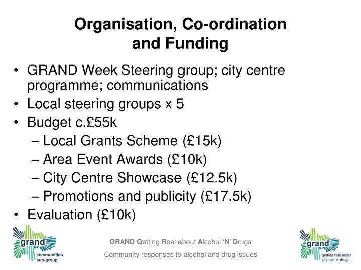 Organisation, Co-ordination