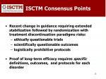isctm consensus points
