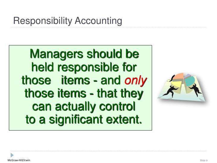 Managers should be held responsible for those   items - and
