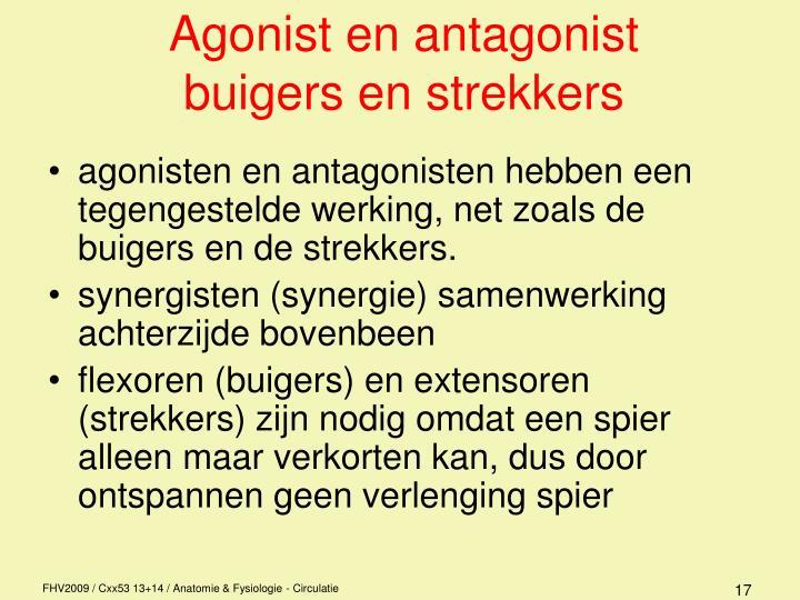 Agonist en antagonist